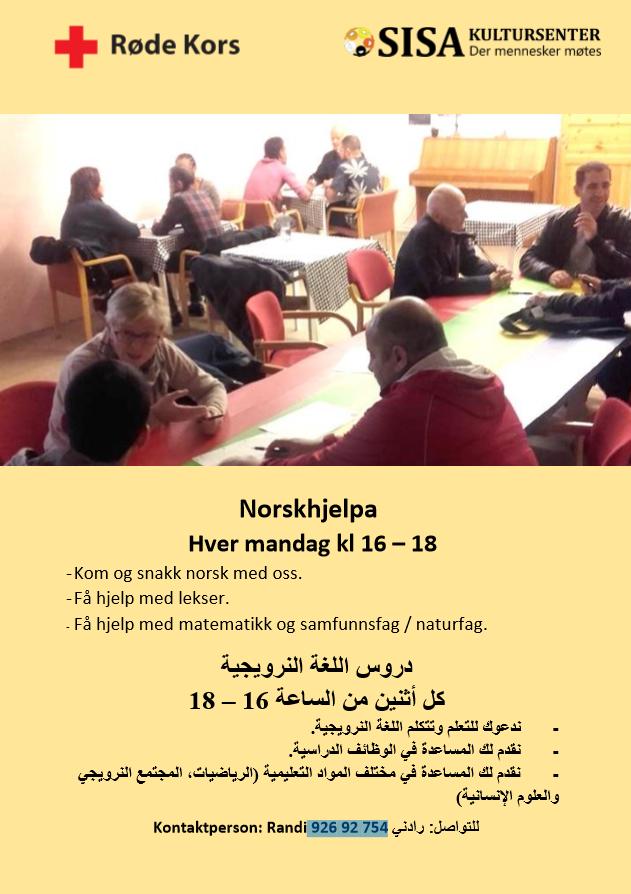 Norskhjelpa @ Sisa Kultursenter | Finnmark | Norge