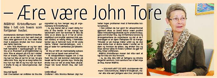 re være han John Tore PDF